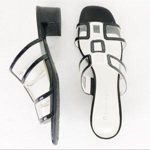 LIKE NEW! Etienne Aigner Mod 'Karat' Slide Sandal